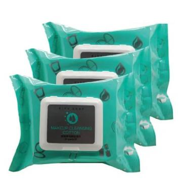 Private Label Wholesale Makeup Remover Wet Wipes