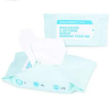 Custom Wholesale Cleaning Brighting Refreshing Makeup Remover Wet Wipes