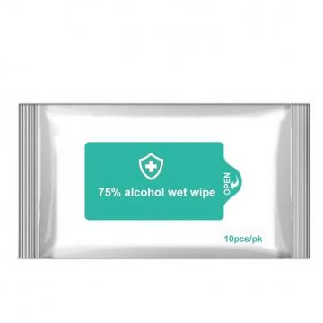 80sheets Manufacturer Wet Wipe 75% Alcohol Wet Wipes Baby Wipe