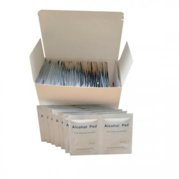 Non-Woven Sterile 70% Isopropyl Alcohol Pad Clean Wipe