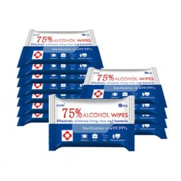 Disinfection 75% Alcohol Wipes Wet for Cleaning
