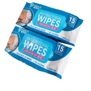 10-100PCS EPA Certificated Household Cleaning Disinfecting Wet Tissue Disinfectant Alcohol Wipes