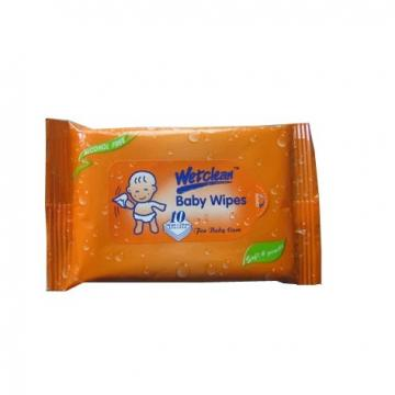 Hot sale water natural care OEM wipes organic portable custom hand sanitising wipes