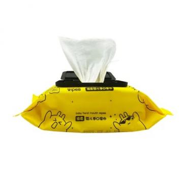 Custom Single Individually Wrapped Antibacterial Wipes 75% Alcohol Disinfecting Cleaning Anti Bacterial Hand Surface Wet Wipe