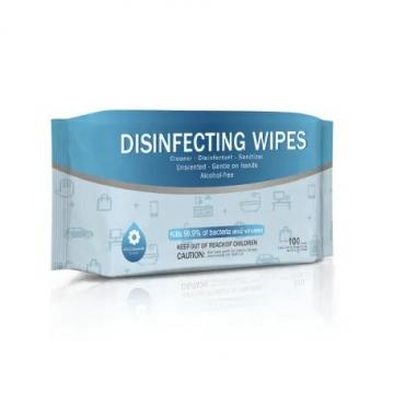 10PCS Eco Friendly Sanitizing Wet Tissue Alcohol Wet Wipes