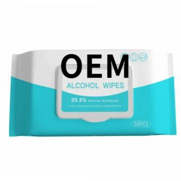 Wholesale Custom Virus Prevention 75% Alcohol Surface Disinfect Wet Wipes Custom 26cm*30cm