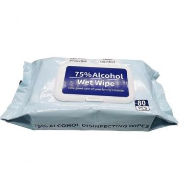 Medical Disinfecting 75% Alcohol Cleaning Wipes Surface Disinfectant Wipes Wet Wipes 75% Alcohol