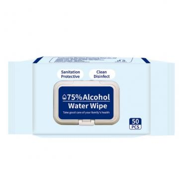 Visbella 75% Alcohol Wipes in Stock Antibacterial Disinfectant Wipes