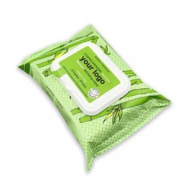 25pcs Free sample wholesale oem facial cleaning wipes