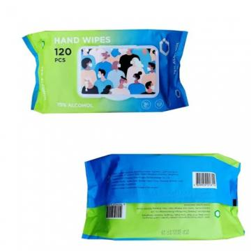 OEM custom Spunlace Nonwoven non alcoholic cleaning individual packing wet wipes