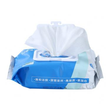 Customized 75% Alcohol Disinfectant Wet Wipes Biodegradable Canister /Tub