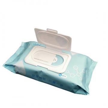 Single Pack Disinfectant Wipes Wet Tissue Folding and Packing Machine