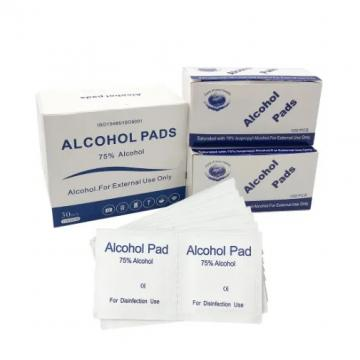 Custom Printed Alcohol Prep Pads Isopropyl Alcohol Wipes FDA