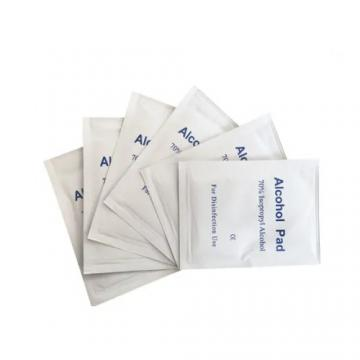 Factory Price Alcohol Prep Pad Alcohol Swab Alcohol Wipes with 70% Isopropyl Alcohol for Disinfection Use
