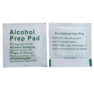Disposable 70% Alcohol Prep Pad Swabs Wipes in China Manufacturer