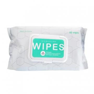 Disposible Alcohol Cleaning Wipes 60/100 Count, Portable Wet Wipes, Hands Wipes for Home Daily Use