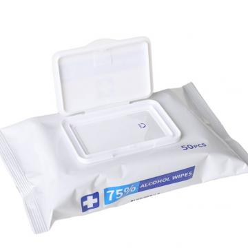 Daily Cleaning Disinfectant Antibacterial Wet Tissue with 75% Alcohol