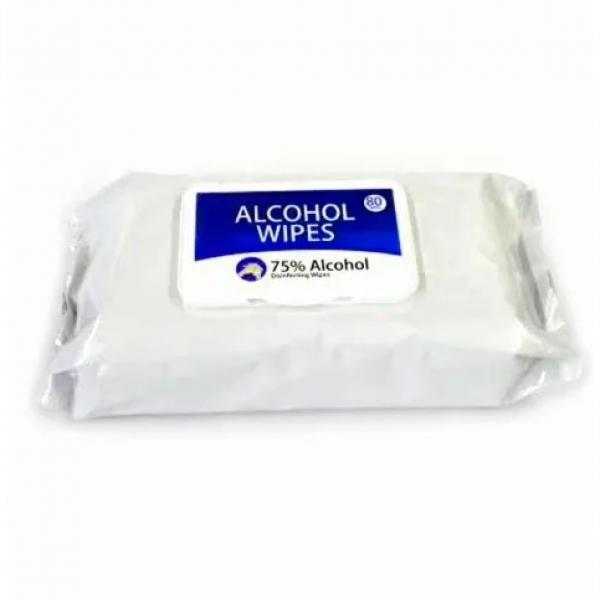 Wholesale Custom Disposable Sanitizer Cleaning Wipes Antibacterial Disinfectant 75% Alcohol Wet Wipes #3 image